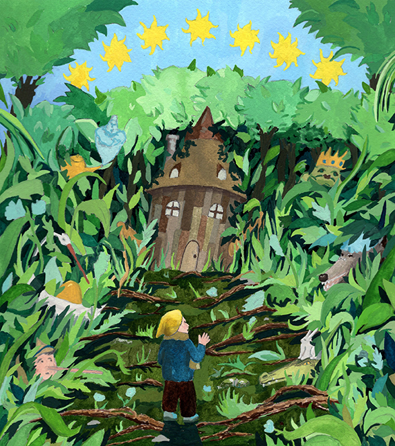 Illustration by Aidan Wilkins