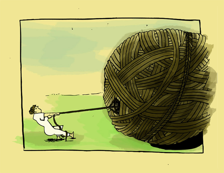 Illustration by Cara Vandermey
