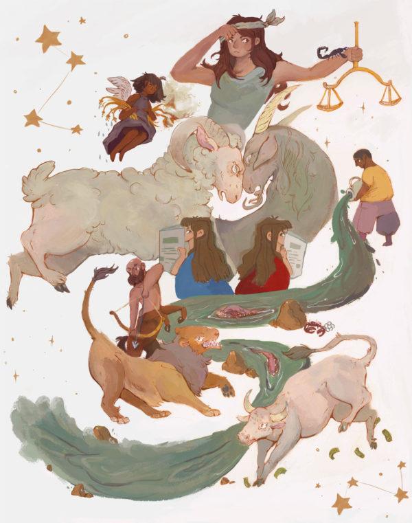 Illustration by Dominique Diedrick
