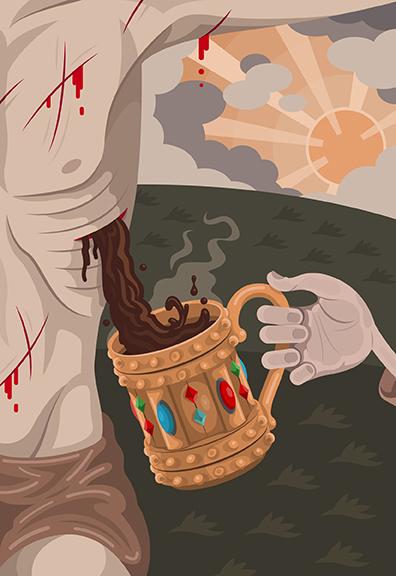 Illustration by Roman Arabia