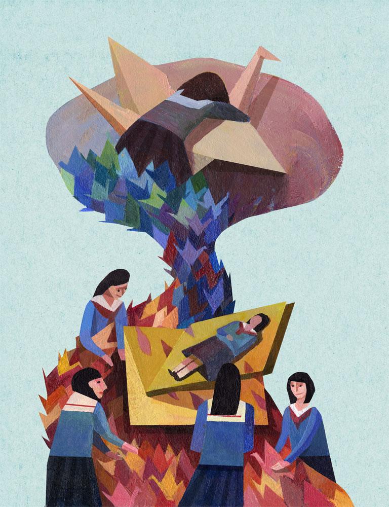 Illustration by Jenn Liv