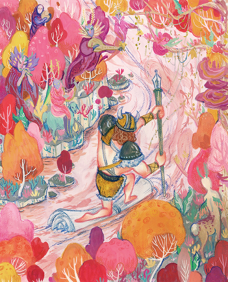Illustration by Jue Wang