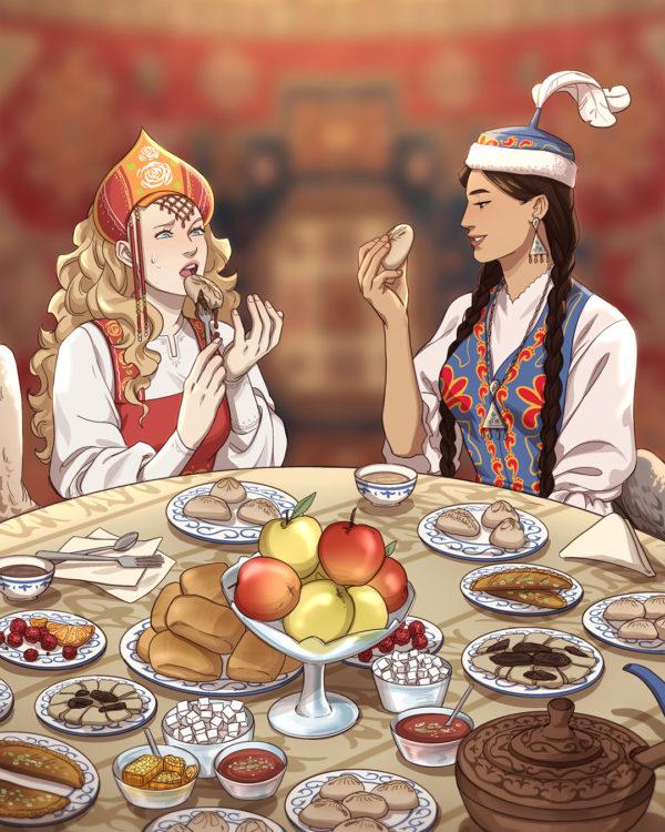 Illustration by Kamilla Vorobieva