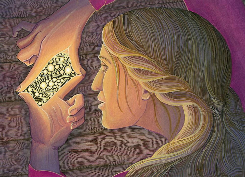 Illustration by Liisa Aaltio