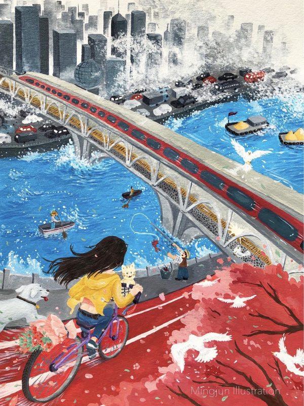 Illustration by Mingjun Guo