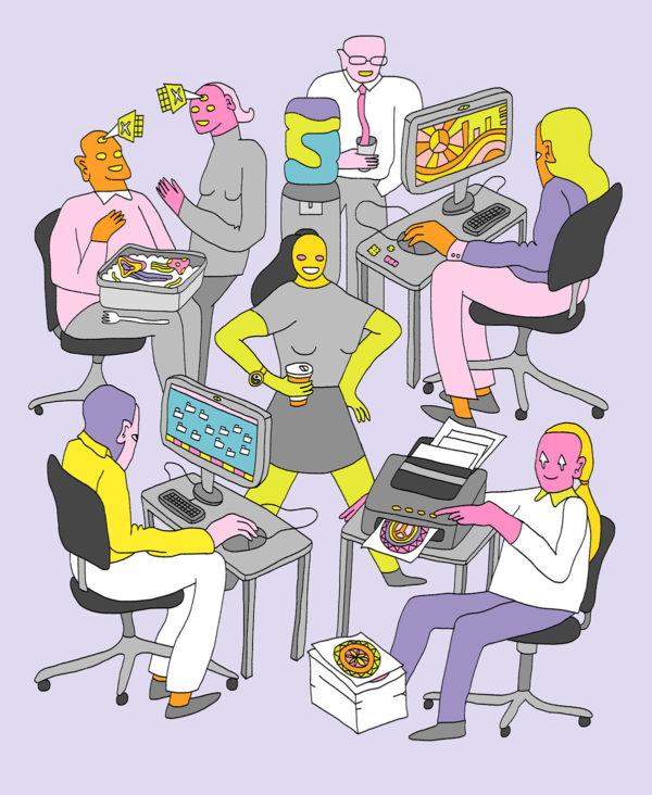 Illustration by Nicole Zaridze