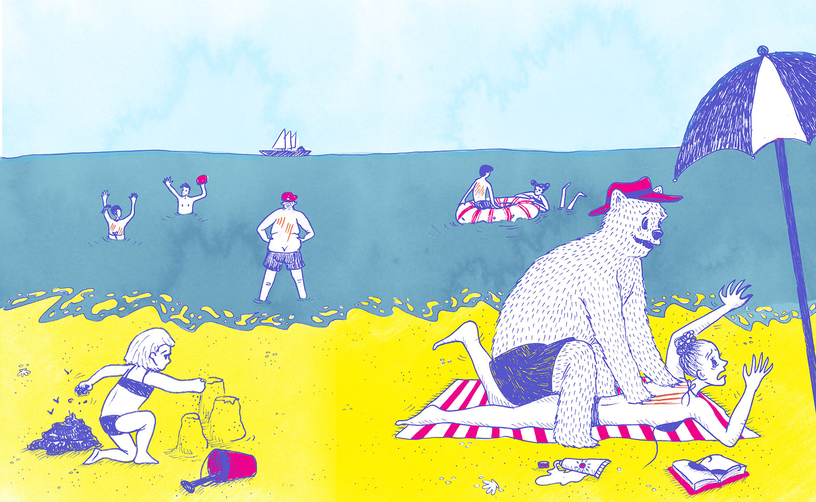 Illustration by Pauline André