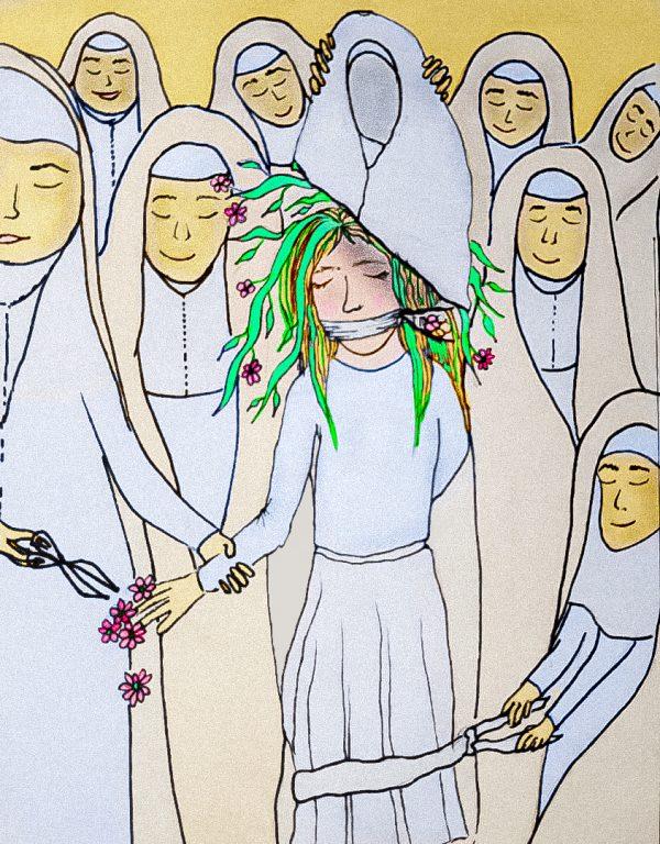 Illustration by Reyhane Khonsari