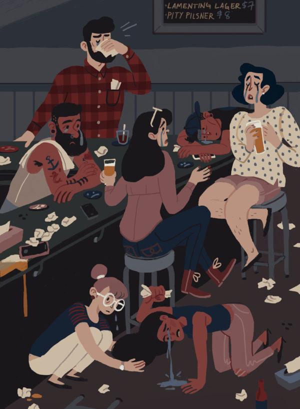 Illustration by Sabina Lindemann