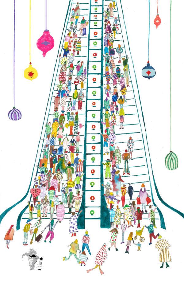 Illustration by Salva Modarres