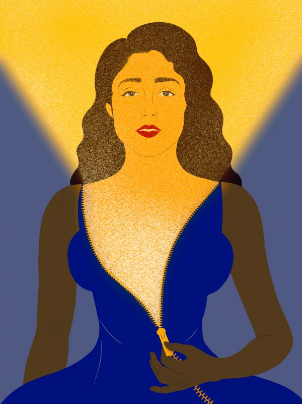 Illustration by Shahrzad Soroosh