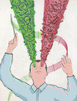 Illustration by Shayan Khosravi