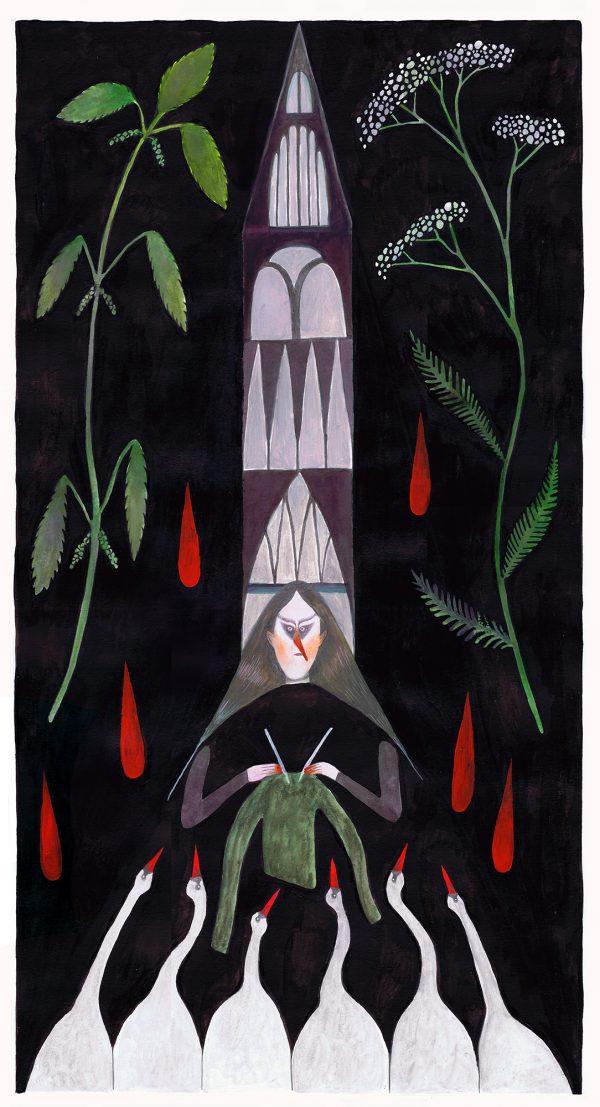 Illustration by Sid Sharp