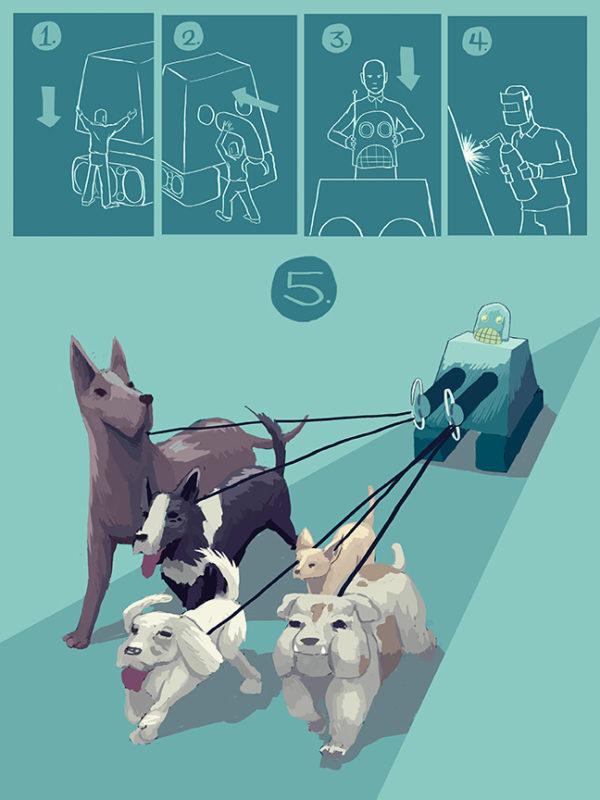 Illustration by Simon Giffen