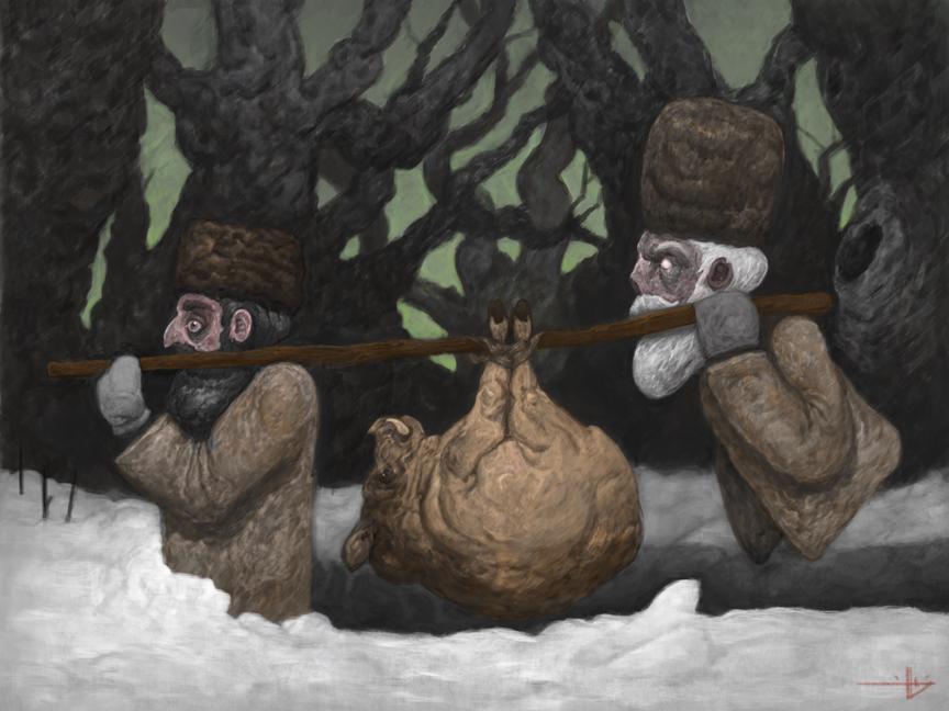 Illustration by Yacov Kleiman