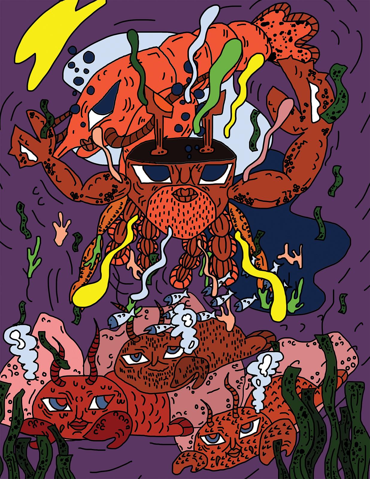Illustration by Seung Gyu Kim