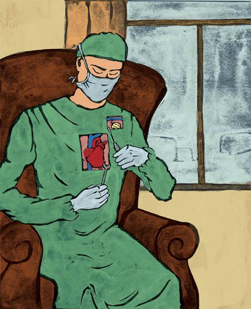 Illustration by Inga Borisenoka