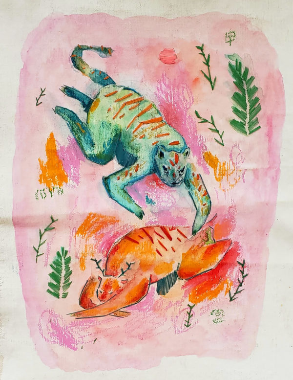 Illustration by Julia Mathew