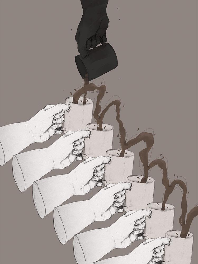 Illustration by Justus Buenaflor