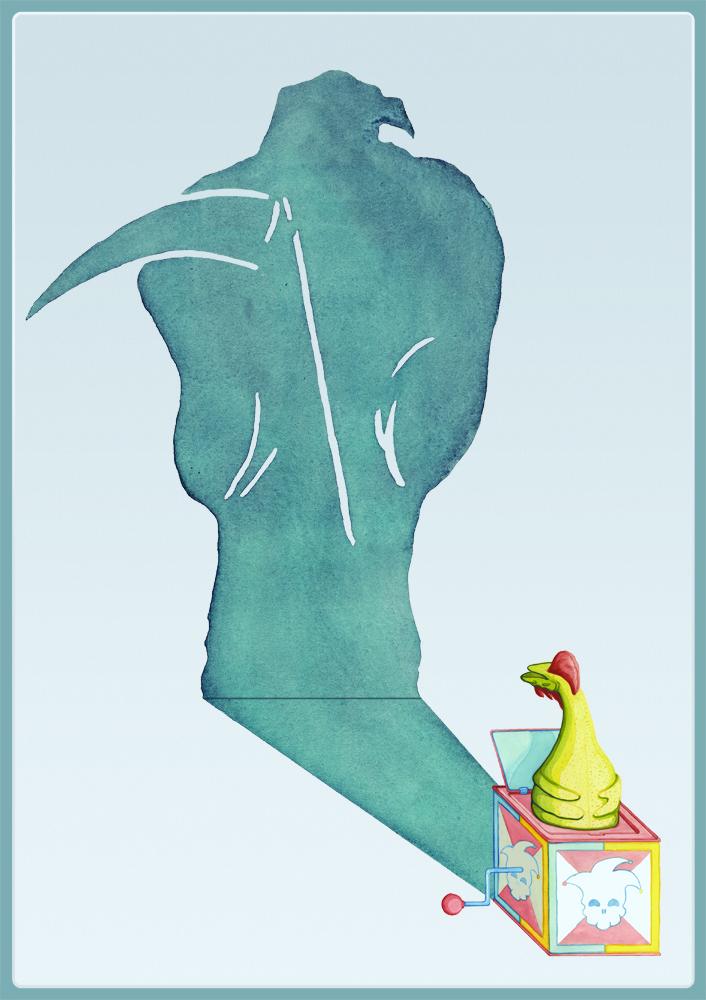 Illustration by Kevin Okorn