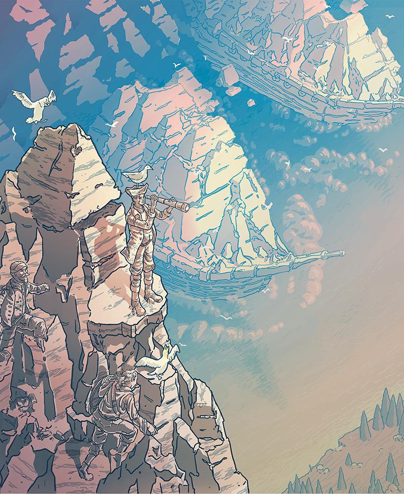 Illustration by Lynden Joudrey