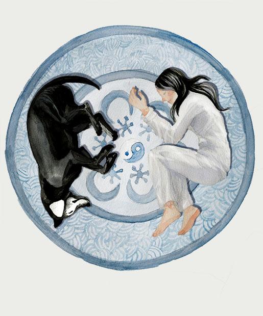 Illustration by Pei Wei Li