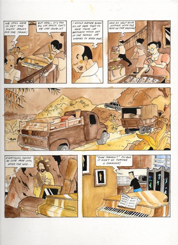 Illustration by Ramon Montinola