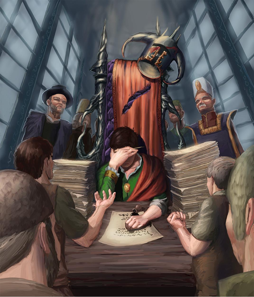 Illustration by Samuel Meas